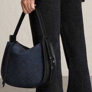 ALLSAINTS Mini Echo Calfskin Hobo Bag
